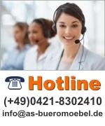 Hotline Nummer mit Kontaktemail adresse