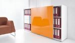 empfangstheke vale sideboard orange
