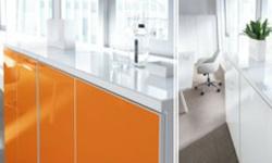 sideboard in Orange