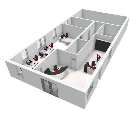 Kostenloser 3D Grundriss